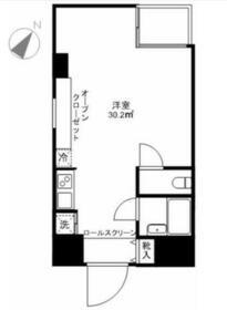 fマンション・0207号室の間取り