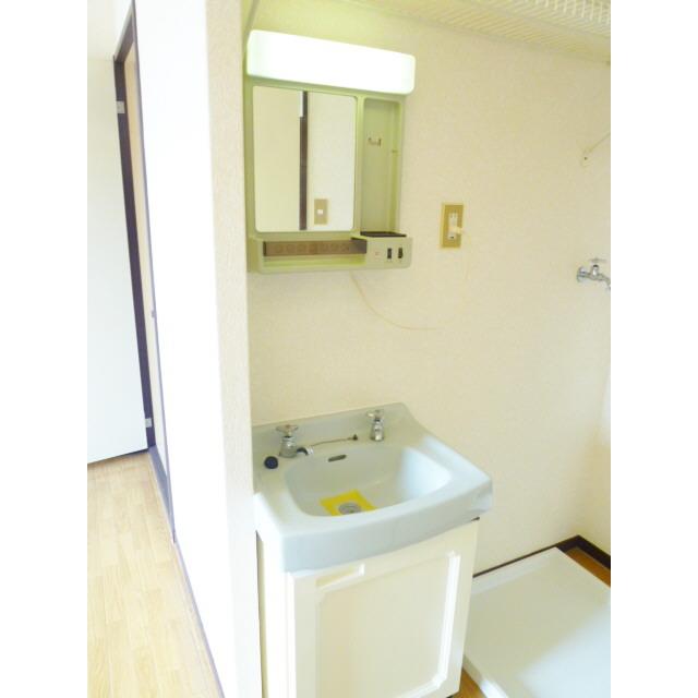 サニーエステート2F 201号室の洗面所