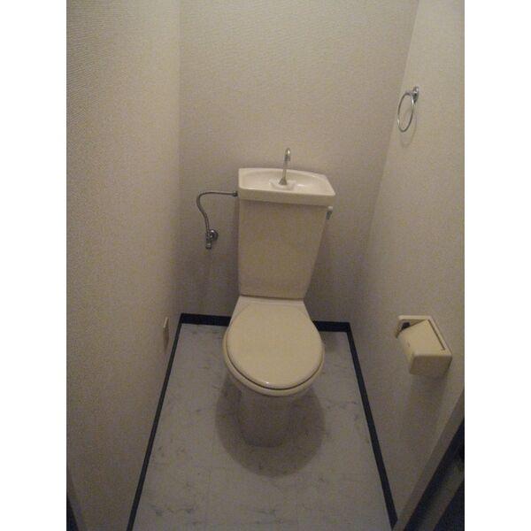トーク21 C1号室のトイレ