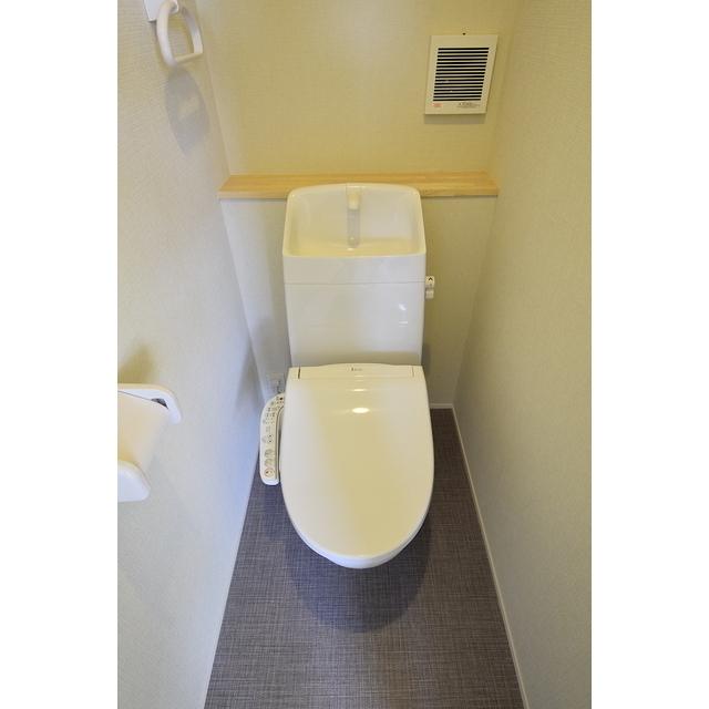 グランエッグス池袋要町 01号室のトイレ