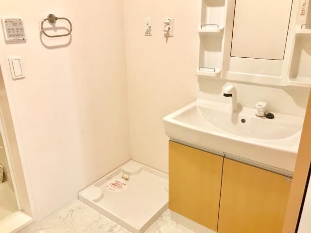 VictoireⅠ(ヴィクトワールワン) 201号室の洗面所