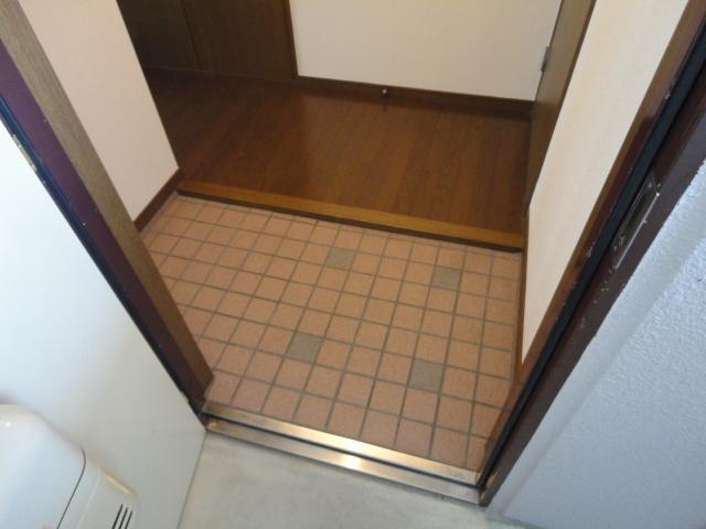 コロナハイツ 202号室の玄関