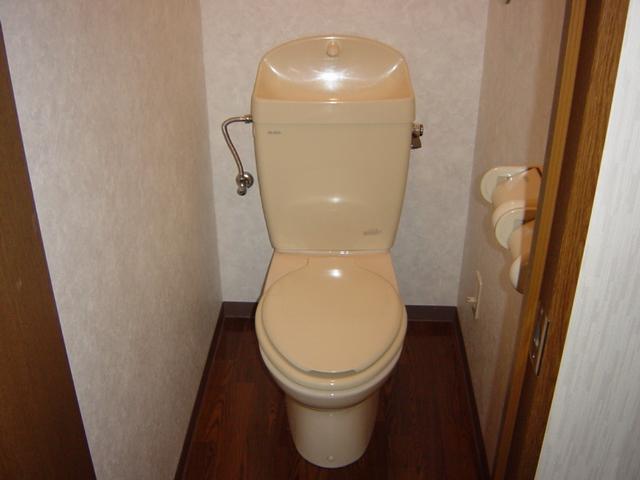 コロナハイツ 202号室のトイレ
