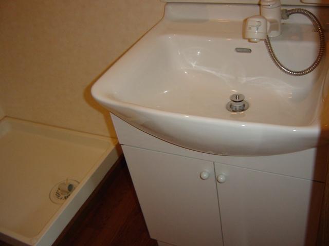 コロナハイツ 202号室の洗面所