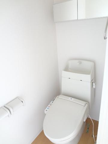 Louange 605号室のトイレ