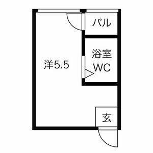 プレアール東淀川・402号室の間取り