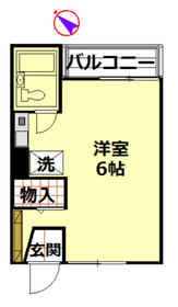 スターホームズ三ツ境Ⅴ・107号室の間取り