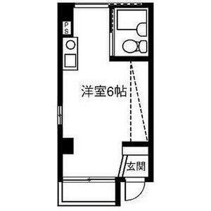 EAST COURT SHOMEIJI・202号室の間取り
