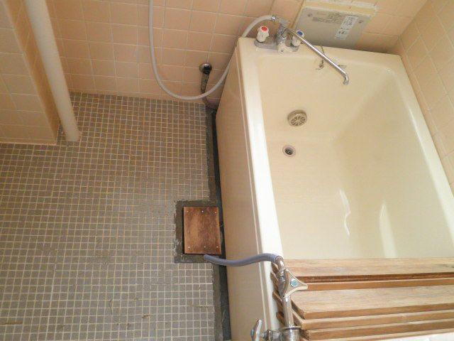 中山団地6号棟 404号室の風呂