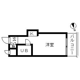 TOP・浅草・707号室の間取り