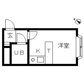 ベルピア・鎌倉第2-2・204号室の間取り