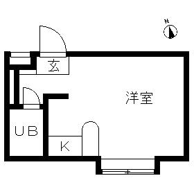 ベルピア・茅ケ崎第10・102号室の間取り