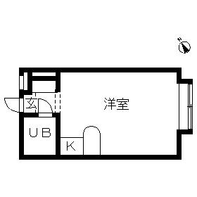 ベルピア・茅ケ崎第10・105号室の間取り