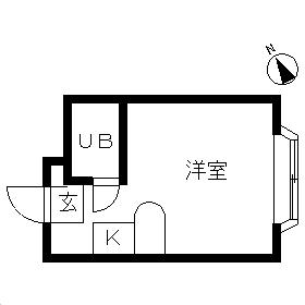 ベルピア・鶴ケ峰第2・103号室の間取り
