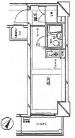 ロータリーライフ石川町・311号室の間取り