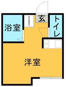パンシオン 東大宮NO.1 B棟・0204号室の間取り