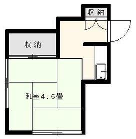 佐藤荘・2号室の間取り