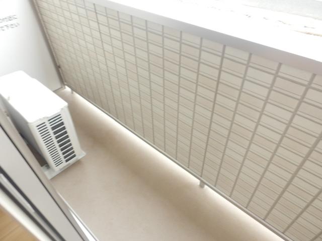 エスタシア光 00205号室のバルコニー