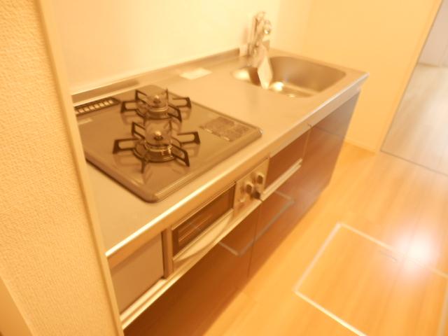 エスタシア光 00205号室のキッチン