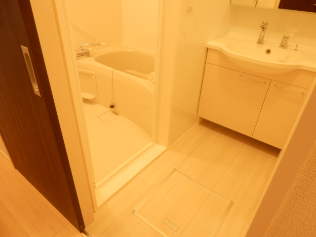 エスタシア光 00205号室の洗面所
