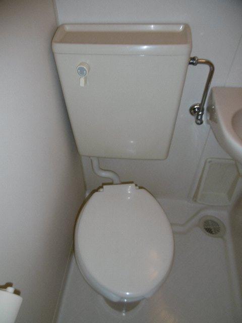 ドーム桜山 7A号室のトイレ