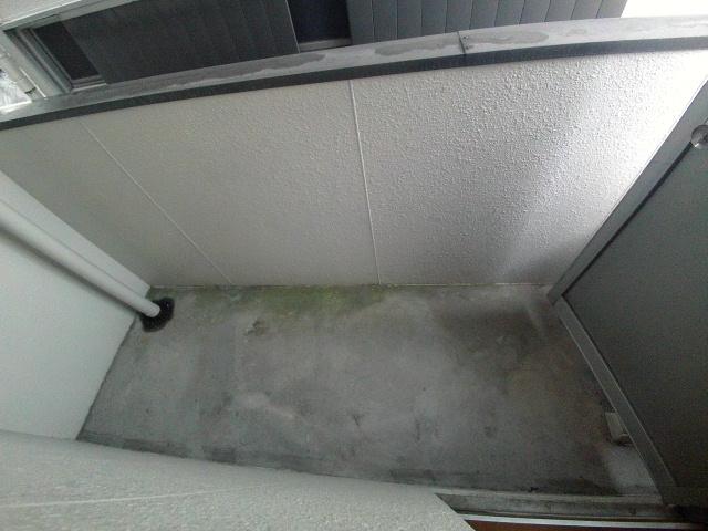 ニューコーポ伊賀 201号室のバルコニー
