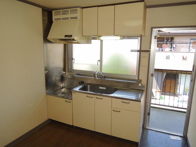 ウイング・シャロー小豆餅 C 102号室のキッチン