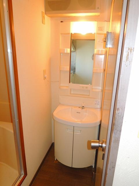 ウイング・シャロー小豆餅 C 102号室の洗面所