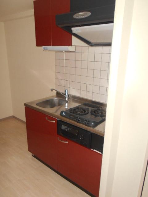 ルーチェ八事 202号室のキッチン