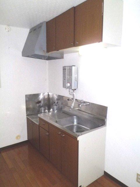 グリーンテラス山口のキッチン
