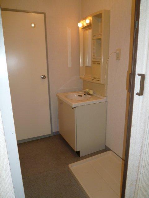 マンションヒカリⅡ 402号室の洗面所