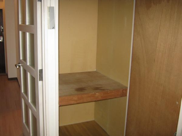 カーサ川並 308号室の収納