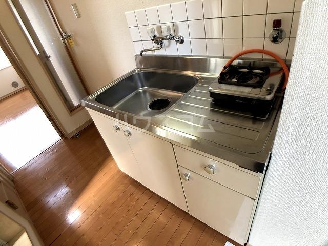 ロッシェル橋本Ⅲ2号棟 206号室のキッチン