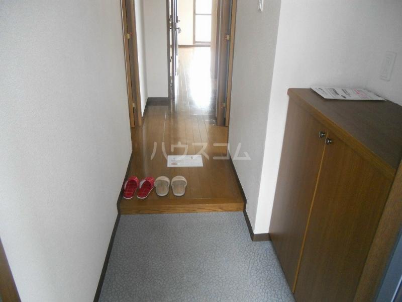 ニングル古淵 205号室の玄関