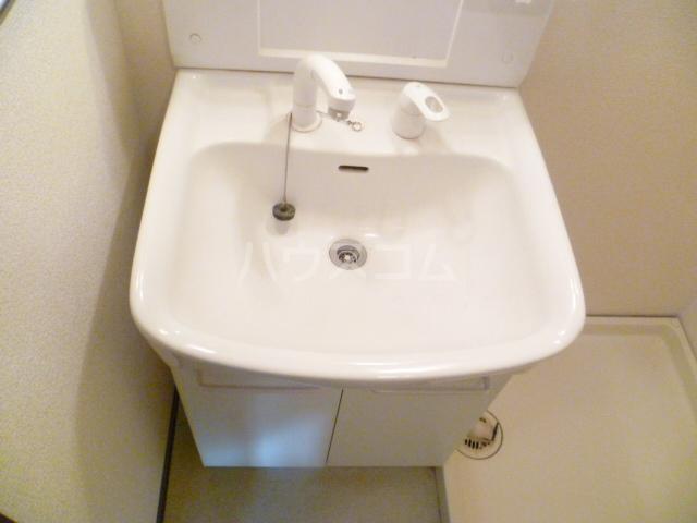 ニングル古淵 205号室の洗面所