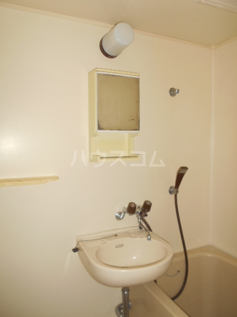 クイーンズガーデン 202号室の洗面所