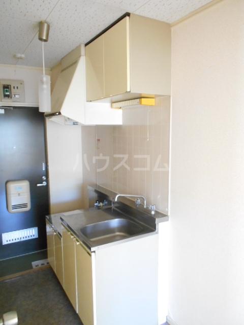クイーンズガーデン 202号室のキッチン