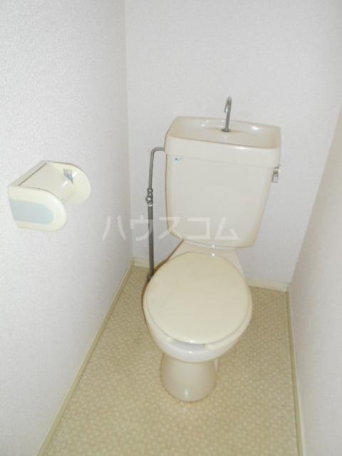 クイーンズガーデン 202号室のトイレ