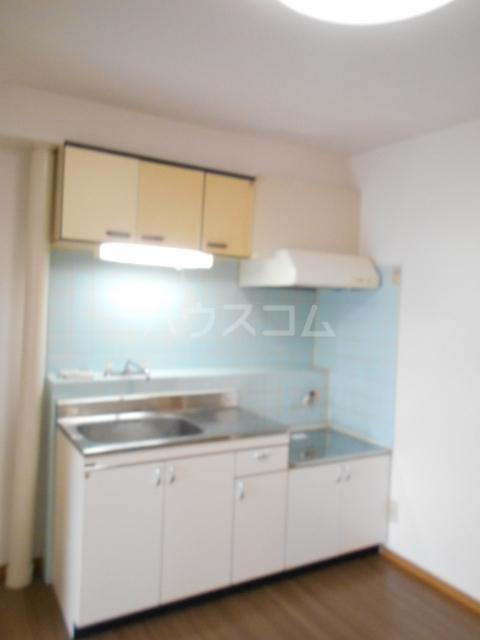 グリーンメイト・ハシバ 206号室のキッチン