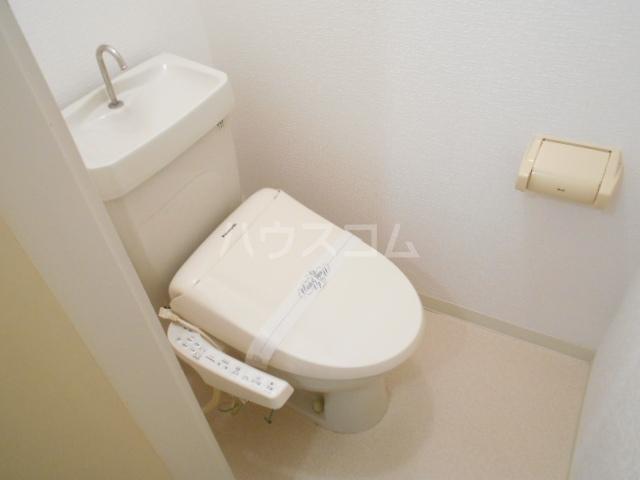 グリーンメイト・ハシバ 206号室のトイレ
