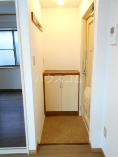 グリーンメイト・ハシバ 206号室の玄関