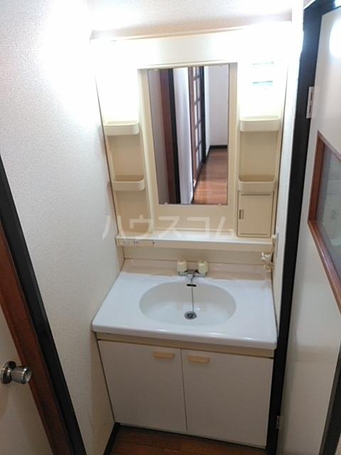 クローバーハイツ 202号室の洗面所
