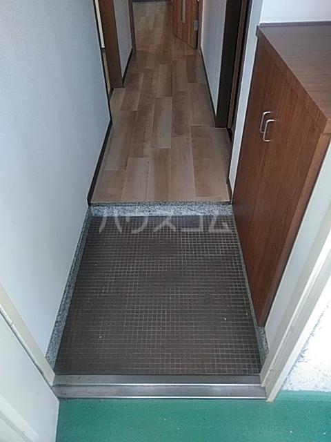 コーポ小尾 201号室の玄関