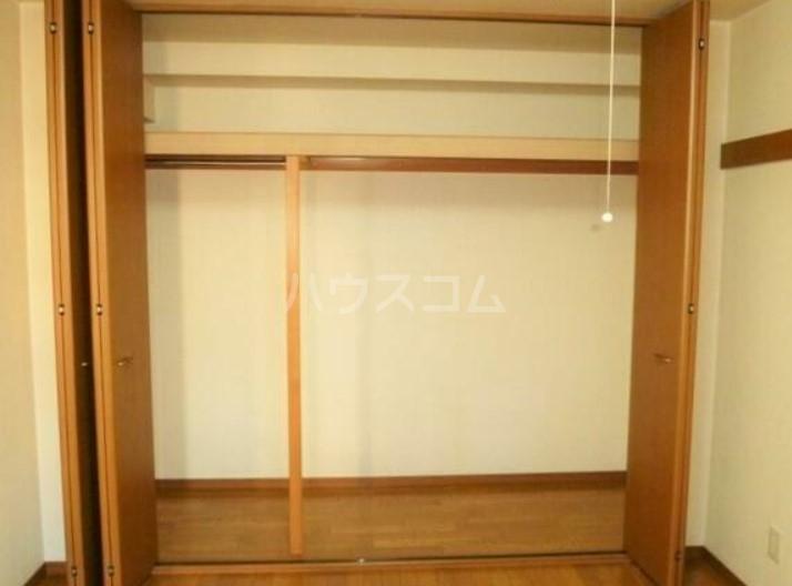 ノースサイト 202号室の収納