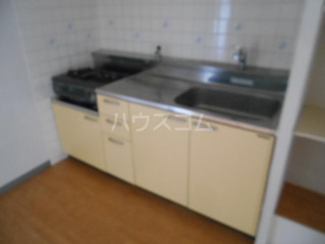 城山・松本マンション 402号室のキッチン