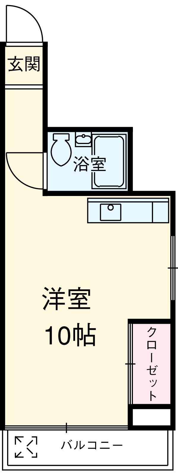 東栄コーポ・501号室の間取り