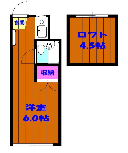 ピア6 603号室の間取り