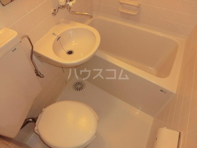 ピア6 603号室のトイレ