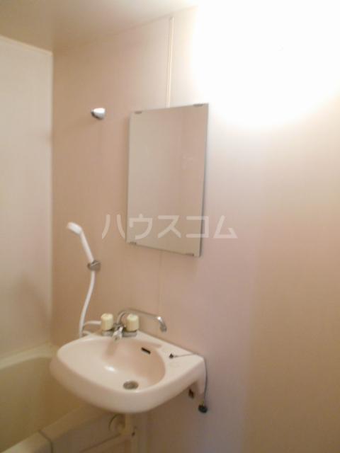 ハイツラフォーレⅡ 201号室の洗面所