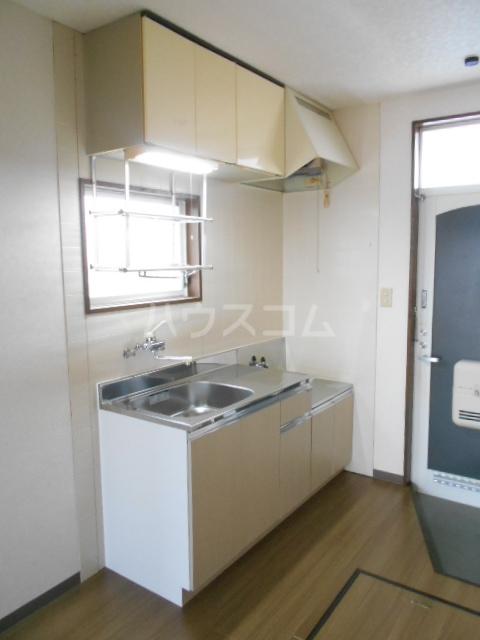 ハイツラフォーレⅡ 201号室のキッチン